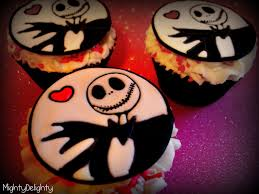 nightmare before christmas cupcake toppers mighty delighty s day inspired skellington