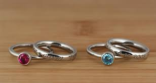 mothers day rings with names carved creations lifenames mothers day child name rings