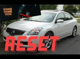 service engine soon light nissan sentra how to reset service engine soon light on a 2007 nissan altima
