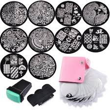 amazon com biutee nail art image stamp stamping plates with