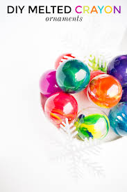 diy melted crayon ornaments jung