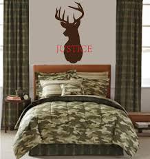 deer head home decor wall mount headboard etsy deer head name decal personalized
