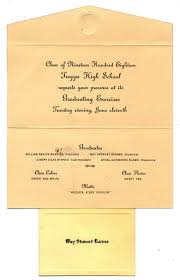 commencement invitation trappe high school class of 1918 commencement invitation