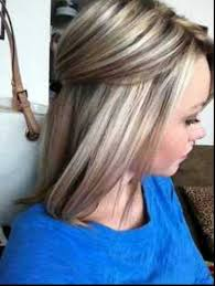 medium lentgh hair with highlights and low lights 40 blonde and dark brown hair color ideas hairstyles haircuts