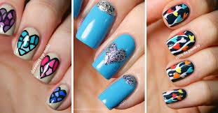 imagenes uñas para decorar uñas de amor decoradas con corazones 170 diseños uñas decoradas