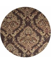 savings on rizzy home volare brown wool ornamental