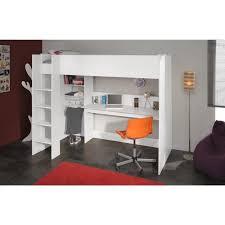 lit sur lev bureau lit mezzanine enfant avec bureau dave sur lev sommier et rangements