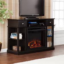 sold kendall electric media fireplace classic mahogany