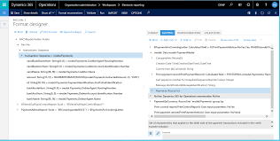 Example Of An Expense Report by Electronic Reporting Overview Microsoft Docs