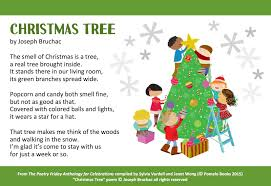 christmas tree poems for kids u2013 happy holidays