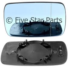 Door Mirror Glass by Right Driver Side Blue Wing Mirror Glass For Bmw E46 Compact 98 05