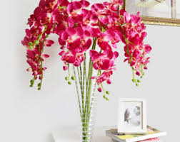 Orchid Centerpieces Fuschia Etsy