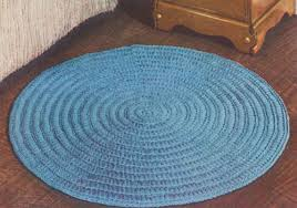 Crochet Oval Rag Rug Pattern Circular Rug U2013 Free Crochet Pattern