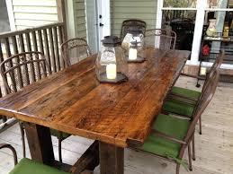 repurposed dining table repurposed wood furniture reclaimed lumber furniture interesting
