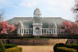 Palm House Botanical Gardens The F Wolfe Palm House At Franklin Park Conservatory And