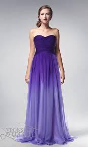 strapless full length ombre purple prom dresses 2014 dvp0002
