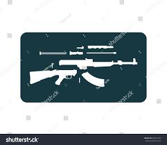 guns logo template stock vector 649916767 shutterstock