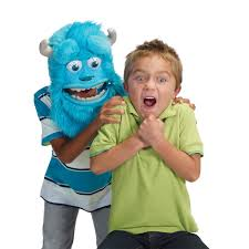 sully monsters inc halloween costume amazon com monsters university sulley monster mask toys u0026 games
