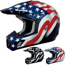 motocross helmets afx fx 17 flag mx atv dirt bike off road protection motocross