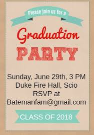 commencement invitation 19 free printable graduation invitations templates