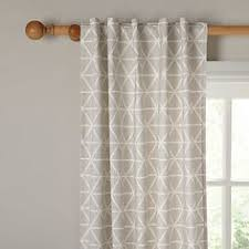 Where To Buy Kitchen Curtains Online by Buy Collection Trellis Lined Eyelet Curtains 117 X 137cm Grey At