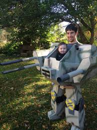 halloween costumes for him a dad made this incredible halloween costume so he could carry his