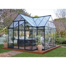 Hobby Greenhouses Palram Chalet Four Seasons Greenhouse U2014 8ft W X 12ft L Model
