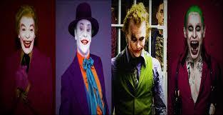 best joker halloween costumes the joker actors 1966 1989 2008 2016 youtube