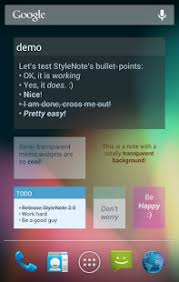 stylenote notes u0026 memos android apps on google play