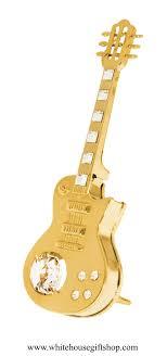 ornament electric guitar ornament or desk model swarovskiâ