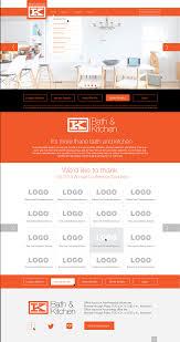 bath u0026 kitchen branding design on behance