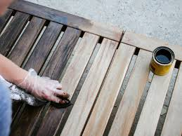 Outdoor Wood Furniture How To Refinish Outdoor Wood Furniture Hgtv