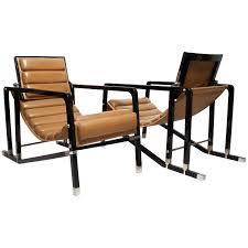 eileen gray pair of transat chairs by andrée putman ecart