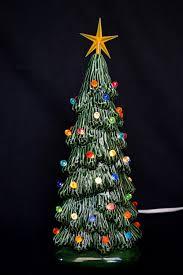 ceramic christmas tree slim christmas tree 9 inches tall