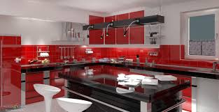 White And Red Kitchen Ideas For Free Red Style Kitchen Design Pictures For Free Red Kitchen