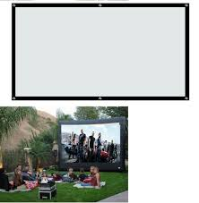 home theater screen fabric hd projector screen ebay