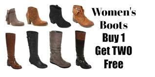 womens boots on sale jcpenney s boots buy one get two free at jcpenney