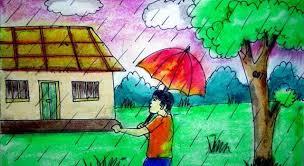 download save thumbnail how to draw rainy season scenery rainy