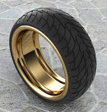 goldfinger wedding rings tyre rings by goldflinger on deviantart