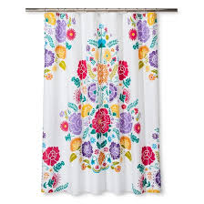 Flower Drop Shower Curtain Kids U0027 Shower Curtains Bath Home Target