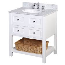 kitchen bath collection kbc11530wtcarr new yorker bathroom vanity