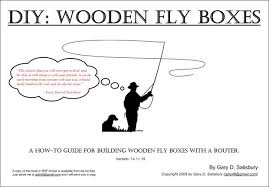 how to build a wooden fly box with a router 32 steps