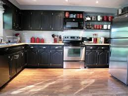 diy painting kitchen cabinets black modern cabinets