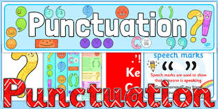 display pack punctuation display pack ks2