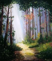 Forest – KRISTINA OGANEZOVA ART