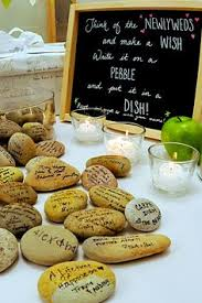 wishing rocks for wedding burlap wishing stones sign wedding burlap decor guest book