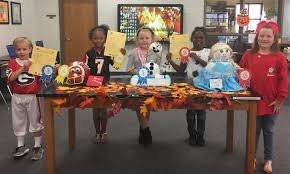 sally dailey meadows elementary highlights pumpkins and poems