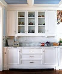 buffet cabinet with glass doors open travel