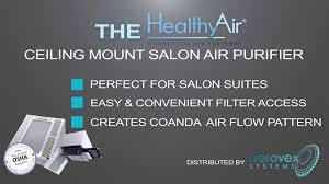 healthy air ceiling mount air purifier youtube
