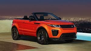 range rover evoque 2017 2017 land rover range rover evoque convertible u0026 2017 lambor